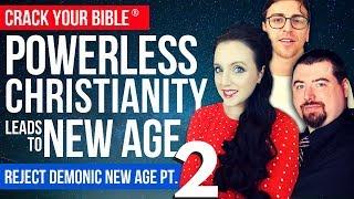 👁️ REJECT DEMONIC NEW AGE Pt. 2 | Steven Bancarz + Josh Peck