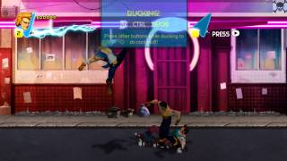 Double Dragon: Neon gameplay PC 1080p