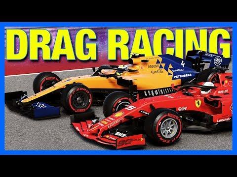 F1 2019 Career Mode : DRAG RACING!! (Part 41)