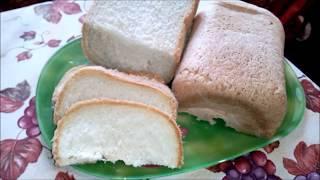 Белый хлеб в хлебопечке// Очень простой и не дорогой рецепт