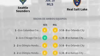 Previa Seattle Sounders vs Real Salt Lake - Jornada 19 - MLS 2020 - Pronósticos y horarios