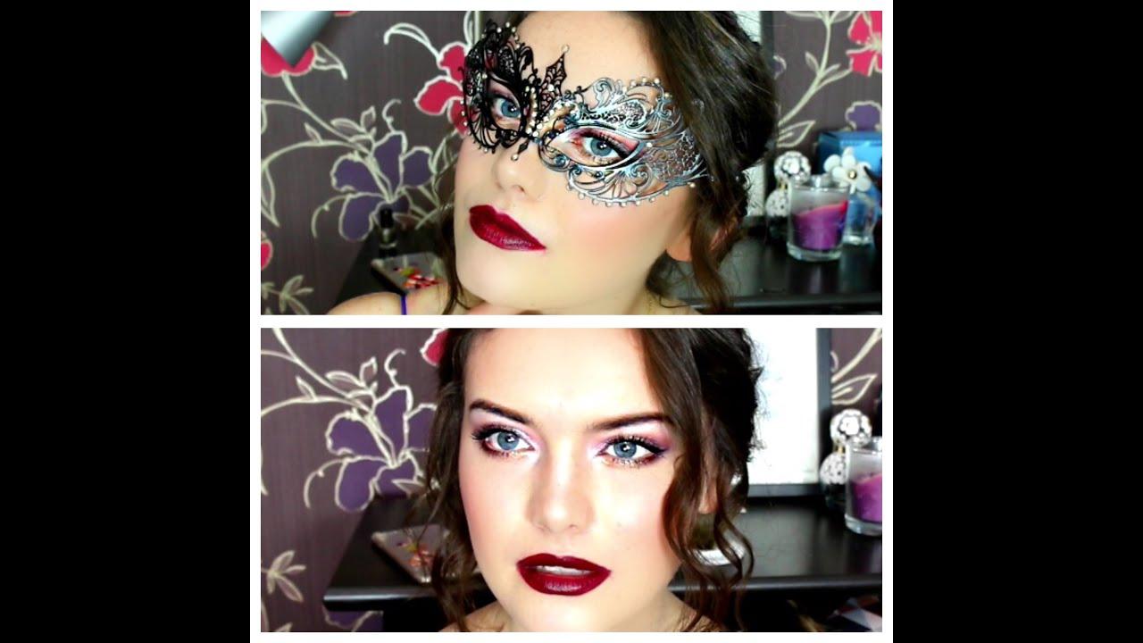 masquerade ball: makeup and hair | bellaizzy