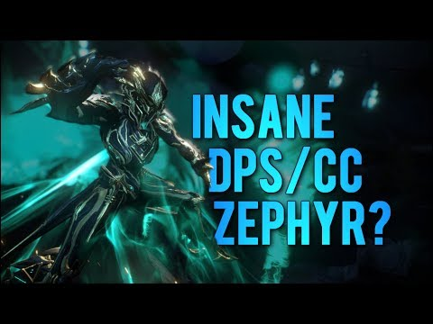 Warframe: Best Zephyr CC/DPS Build?