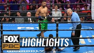 Jonathan Esquivel knocks down Justin Steave 3 times for 2nd round victory | HIGHLIGHTS | PBC ON FOX