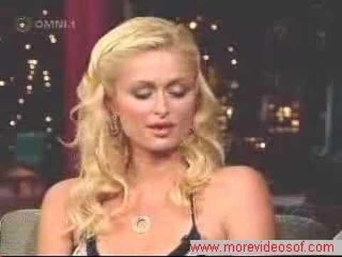Paris Hilton in The Show of David Letterman