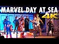 Marvel Day at Sea Cruise Review: Disney Magic ~ Disney Cruise Line ~ Cruise Review [4K Ultra HD]