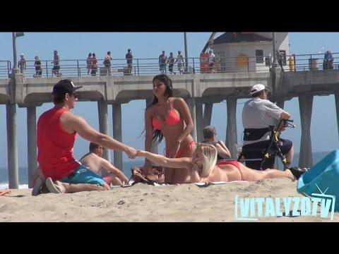 Ridiculous LifeGuard Picking Up Girls Prank!