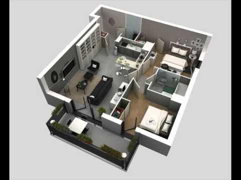 desain kamar tidur utama ukuran 3x3 meter marcella