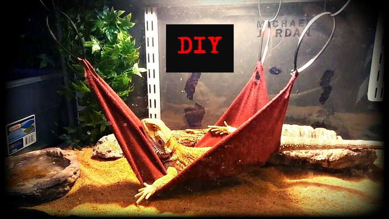 diy bearded dragon hammock diy bearded dragon hammock   youtube  rh   youtube