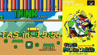 [TAS] Think Fast (SMW Hack) in 15:56