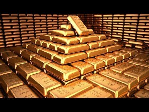 Extreme Amazing craft gold casting Skill, Casting Bullion At Work gold