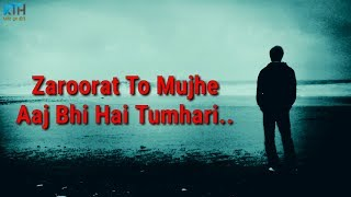 True Line Status Very Sad Heart Touching Whatsapp Status Video | 2 Line Status - Kash Tum Hoti