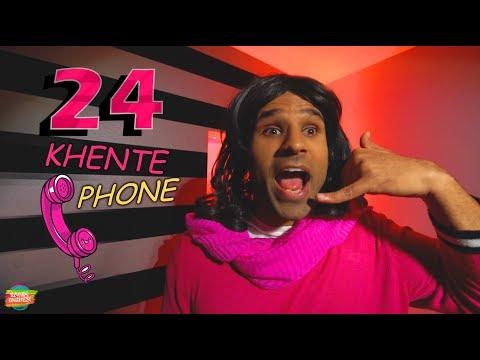 24 KHENTE PHONE parody SONG | Rahim Pardesi