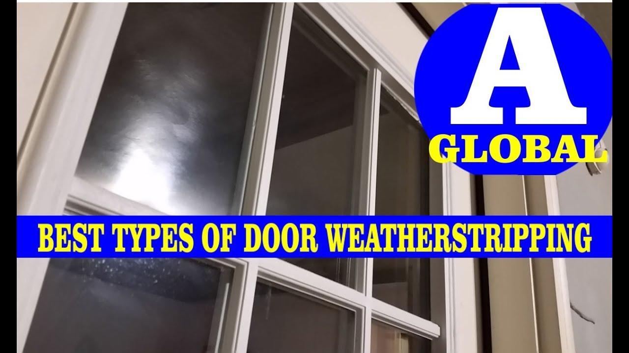 Best Door Weatherstripping Md Door Jam Youtube