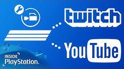 Mit der PS4 streamen über Twitch & YouTube - So geht's!