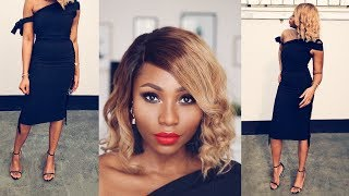 VALENTINE'S DAY GRWM:  MAKEUP TUTORIAL + OUTFIT | DIMMA UMEH