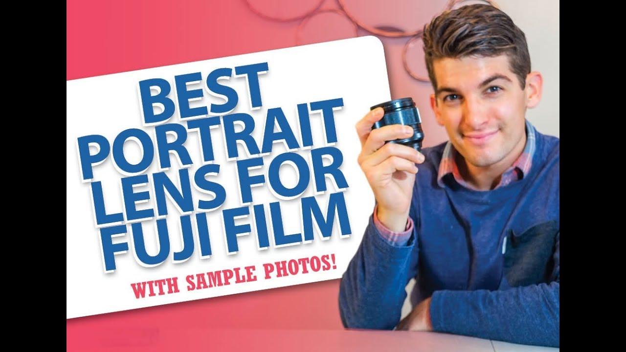 Best Fujifilm Portrait Photography Lens for Major Bokeh!