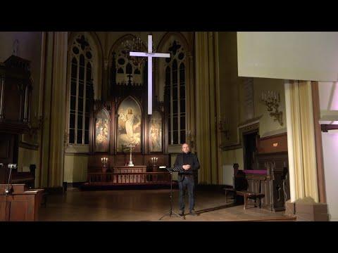 28.02.2021  |  StepUp  I  Rīgas Sv. Pāvila draudzes dievkalpojuma sprediķis