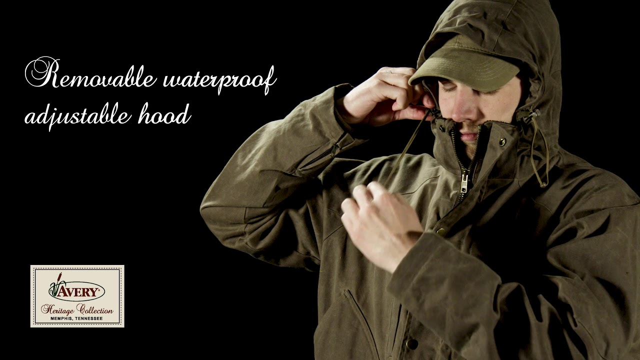 b2f0d1a029238 Avery Heritage Waterfowl Wading Jacket | Water & Wind Proof