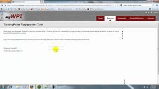 Registering your Clicker on Blackboard