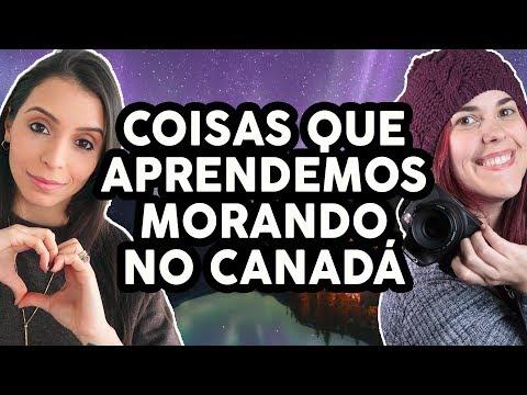 COISAS QUE APRENDEMOS MORANDO NO CANADÁ  ft. Amanda Araújo