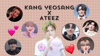 Kang Yeosang X Ateez