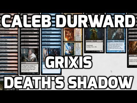 Channel CalebD  Modern Grixis Death's Shadow Deck Tech & Match 1