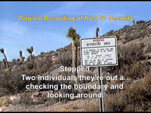 Area 51 - First Vehicle Entry Past Freedom Ridge Road Blockade 01/02/94