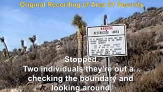 Area 51 - First Vehicle Entry Past Freedom Ridge Road Blockade 01/02/94