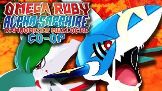 HYPE LEGEND ENCOUNTER! | Pokemon Omega Ruby Alpha Sapphire RANDOMIZER Nuzlocke Co-Op #9