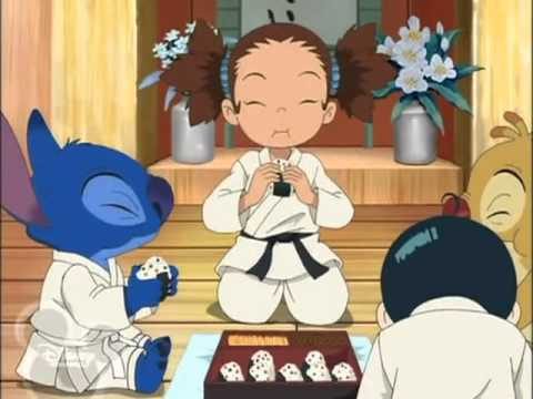 Stitch! Episode 14 Riceball Reuben! English dub anime