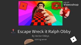 gaming on the wreck it rakph easy ROBLOX Obby- FUN :)