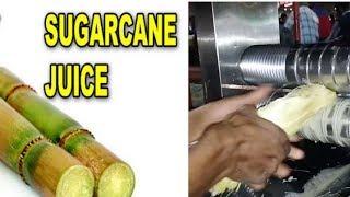Making SUGARCANE JUICE - Street Food Video!