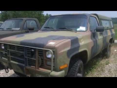 1984 chevrolet pick up 4x4 v8 diesel on youtube. Black Bedroom Furniture Sets. Home Design Ideas