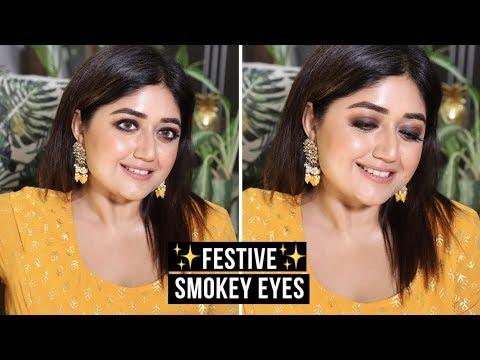 Indian Festive Makeup Tutorial | Smokey Liner | corallista thumbnail