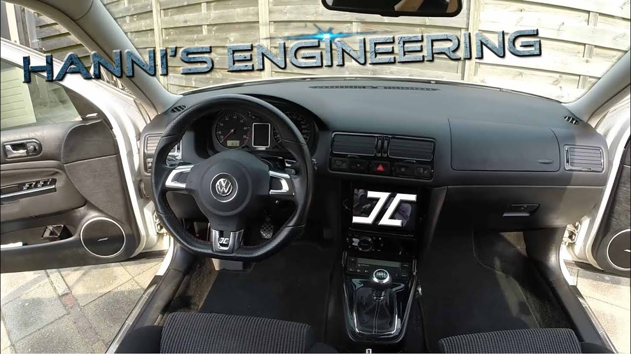 maxresdefault how to retrofit an golf mk6 gti steering wheel to an golf mk4  at couponss.co