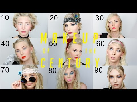 All Makeup of the Century – 1910-1990!