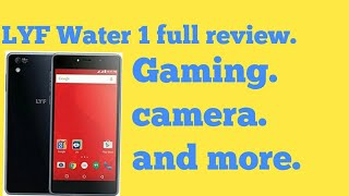 Hindi LYF water 1 full review in depth specifications and more
