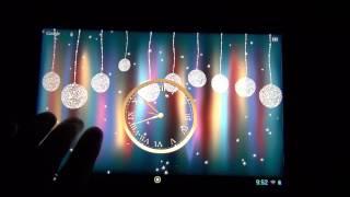 Зимний праздник,новогодние живые обои на андроид