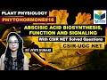 ABSCISIC ACID BIOSYNTHESIS  ABA SIGNALING AND FUNCTION  PHYTOHORMONE (PART-16) CSIR NET 