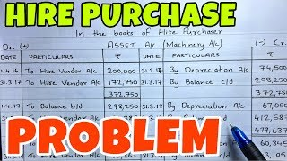 #3 Hire Purchase System - Problem 1 -By Saheb Academy