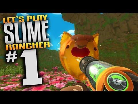 Slime Rancher Gameplay - Ep 1 - Slime Science Update Series Begins (Lets Play Slime Rancher Gameplay