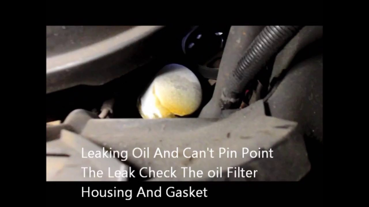 How To Repair An Oil Leak On A Ford Ff And F