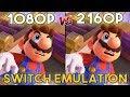 Super Mario Odyssey | Native Vs 4k Resolution - Switch Emulation