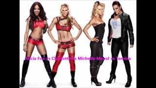 Alicia Fox vs Charlotte vs Michelle McCool vs Tamina- Big Boots