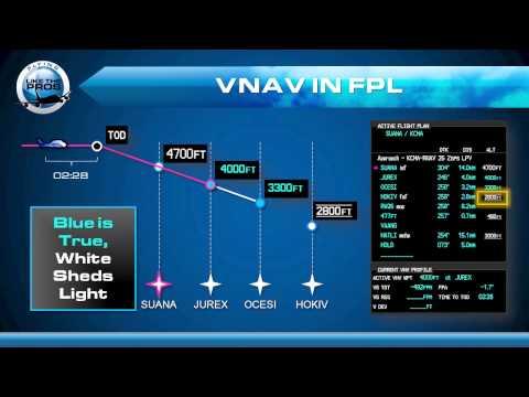 Garmin G1000 VNAV Basics
