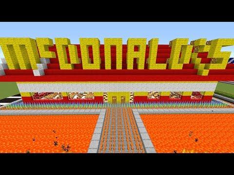 Minecraft: ESCAPE MCDONALDS HOUSE!!! - SECURE BASE ESCAPE IN MINECRAFT