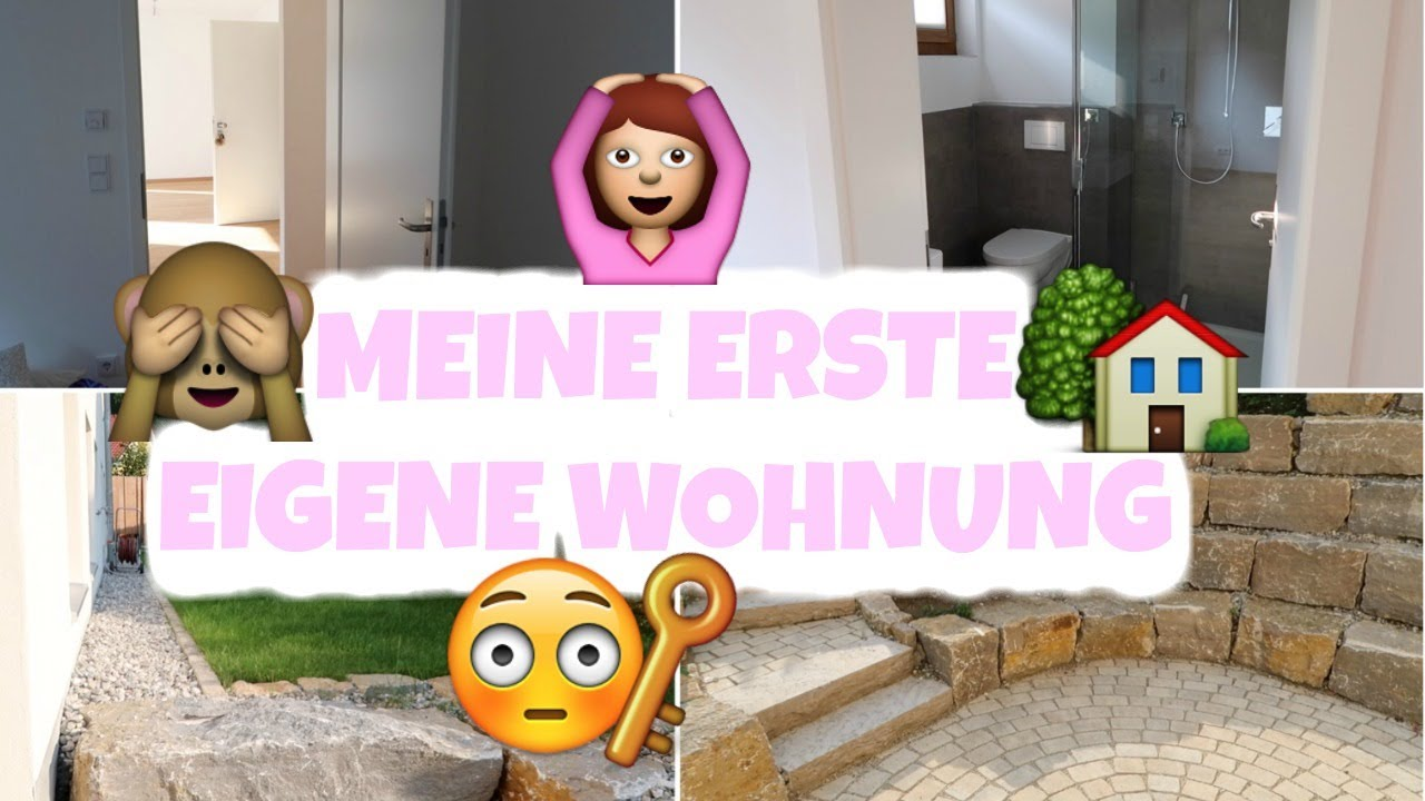 meine erste eigene wohnung nackte roomtour youtube. Black Bedroom Furniture Sets. Home Design Ideas