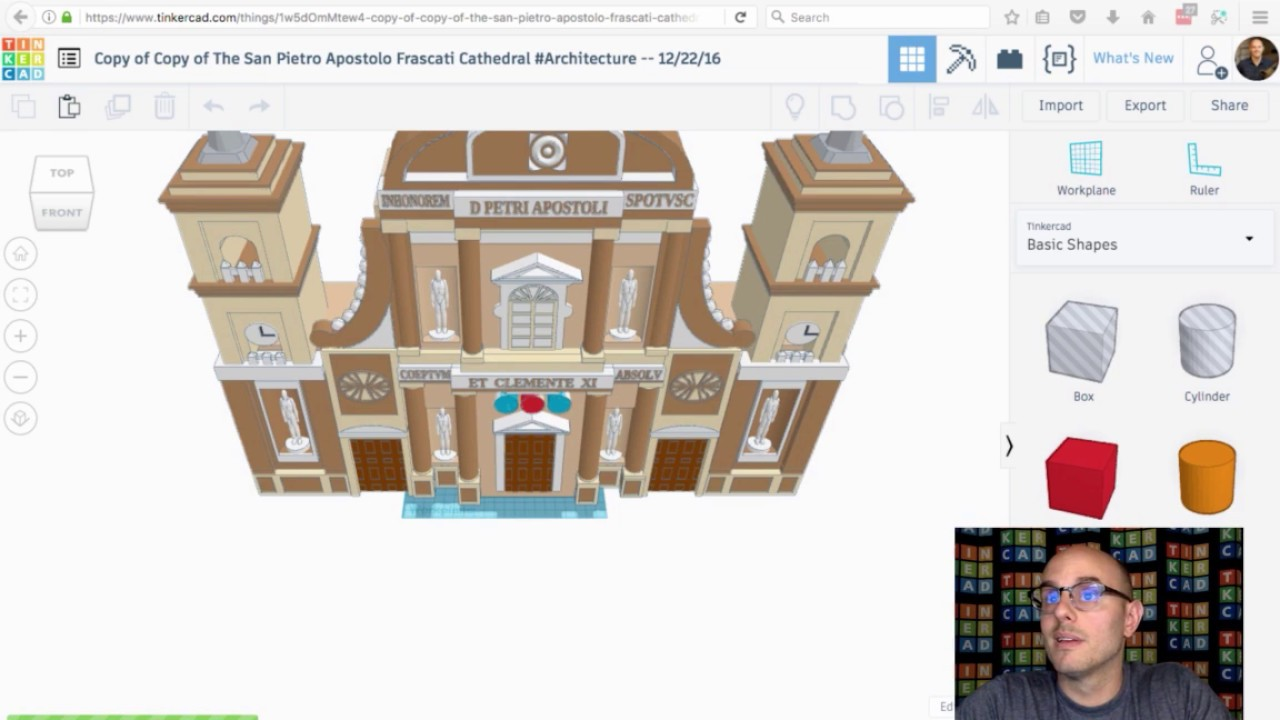 New brick editor in tinkercad live tinker2sday sept 5 2017