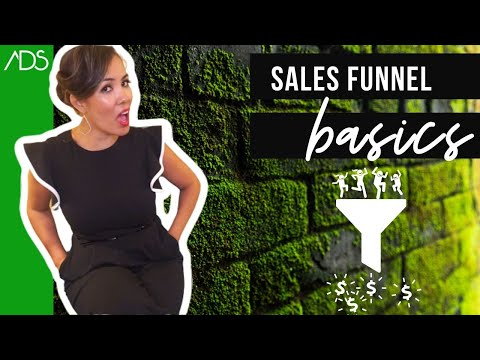 Sales Funnel Basics for Small Business: AIDA + Know, Like & Trust (KLT)